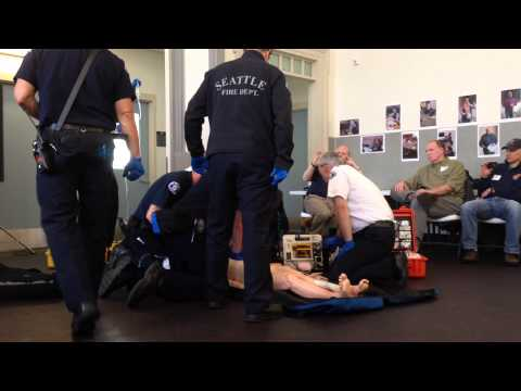 Seattle's Resuscitation Academy, saving lives the right way!
