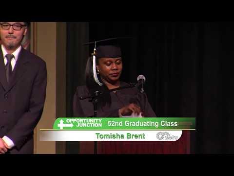 Job Training and Placement Program Graduation, Class 52