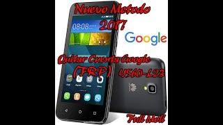 Como quitar cuenta google Huawei Y530-l23 Metodo 2017
