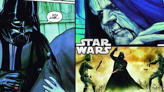 How Darth Vader Kills Imperials and Saves POISONED Palpatine - DVGP - Star Wars Comics Explained