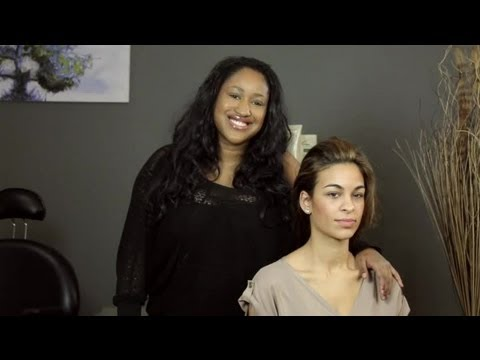Slicked Back Hair & Facial Structure : Hair Styling Advice