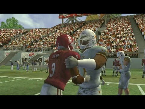 NCAA 2005 PS2 GAMEPLAY OKLAHOMA SOONERS VS TEXAS LONGHORNS