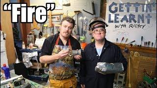 Gettin' Learnt with Ricky - Fire (SwearNet Sneak Peek)