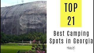 Best Camping Spots in Georgia. TOP 21