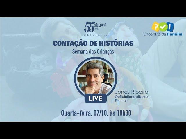 Jonas Ribeiro participa de live do Instituto São José em homenagem às crianças