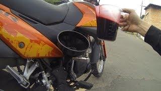 Цепь, Масло,Защита на Viper v250vxr Irbis xr250(Так как на мотоцикле Viper v250vxr в стандарте установлена пластиковая защита картера двигателя и металлических..., 2014-06-30T15:18:59.000Z)