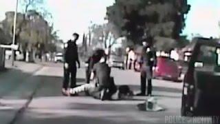 Sacramento Police Dashcam Video Of Violent Jaywalking Arrest