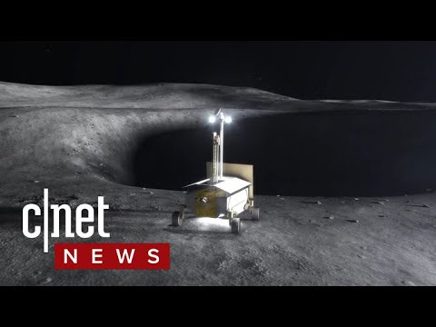 Robots will mine the moon for water (CNET News)