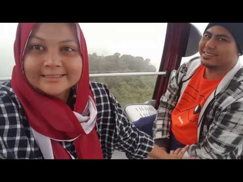 TERRIFYING RIDE | SKYWAY AVENUE GENTING CABLE CAR |  ANNIVERSARY DAY TRIP