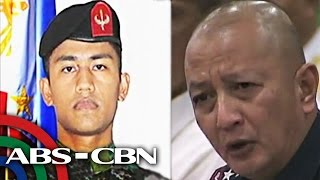 Espina: I seek answers for my people