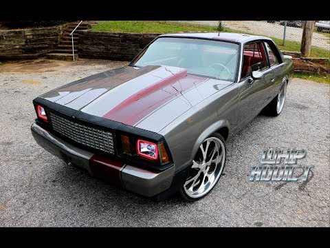WhipAddict: FOR SALE: Chevy Malibu & T-Top Supercharged Monte Carlo SS, Custom Paint & Interior