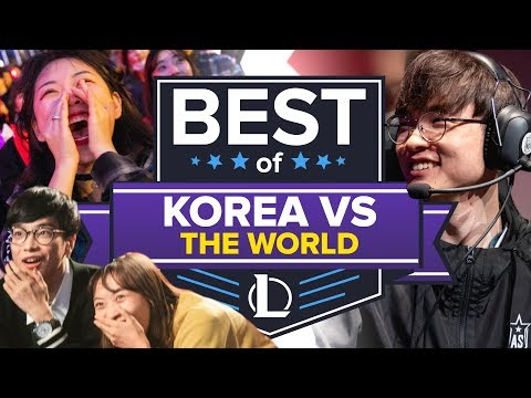 The Best of Korean League of Legends Teams Dumpstering the Rest of the World thumbnail