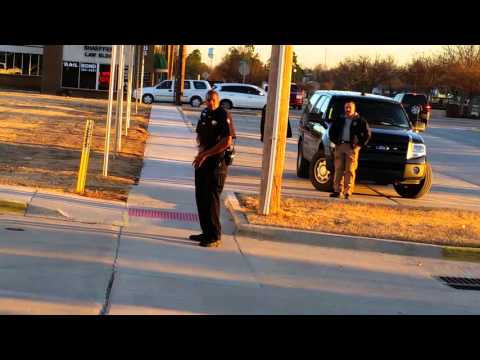 Videotaping the Cleveland County Courthouse - pt 1
