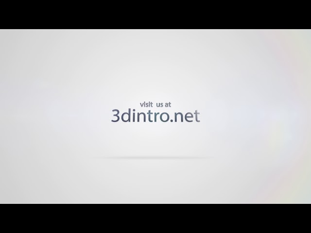 3Dintro.net 155 quick clean glitch logo - 3Dintro.net - Intro Video
