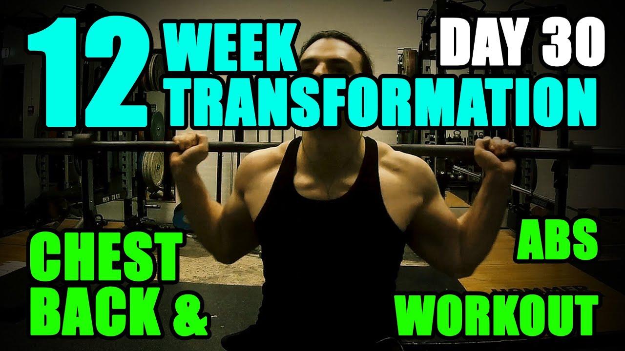 Arnold schwarzeneggers chest back abs workout l 12 week arnold schwarzeneggers chest back abs workout l 12 week transformation challenge l day 30 malvernweather Gallery