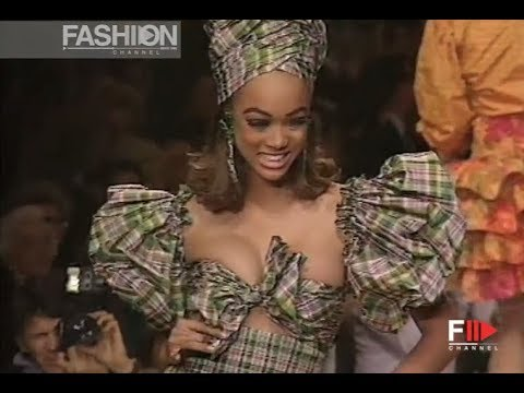 OSCAR DE LA RENTA Spring Summer 1992 New York - Fashion Channel