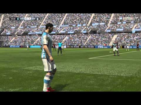 FIFA 15 - World Cup Final Rematch - Argentina vs Germany