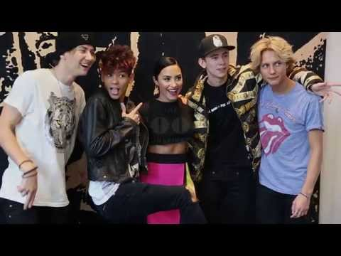 Demi Lovato and The Fooo Conspiracy in the ULTIMATE BOYBAND CHALLENGE