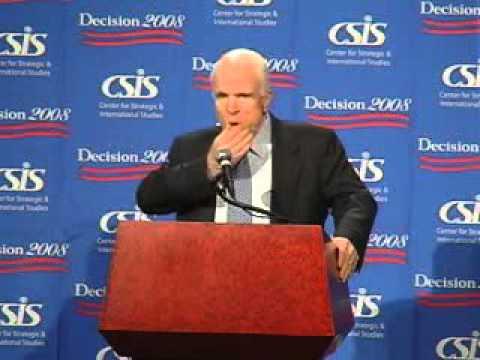 Decision 2008: Sen. John McCain (R-AZ)