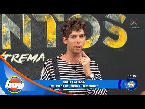 Mauricio Garza recuerda sus mejores momentos en 'Reto 4 elementos' | Hoy