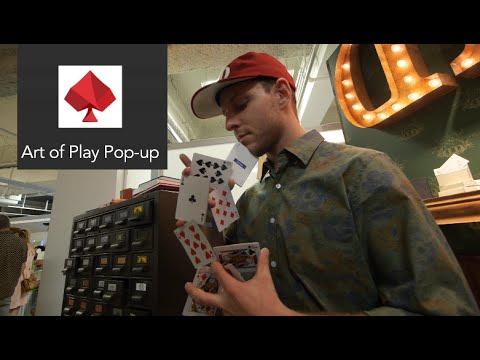 Art of Play Pop-up // cardistry // Dan Buck, Zach Mueller, Dave Buck, Franco Pascali
