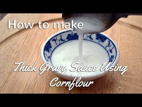 How to Thicken Sauce with Cornflour | Cooking Tips