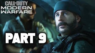 MODERN WARFARE Walkthrough Gameplay Part 9 - Campaign Mission 9 FULL GAME (Call of Duty 2019)