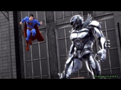 Superman Returns - The Man of Steel vs Metallo - Fight I - Walkthrough Part 4 - HD