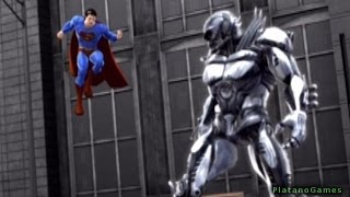 Superman Returns - The Man of Steel vs Metallo - Fight I - Walkthrough Part 4 - HD