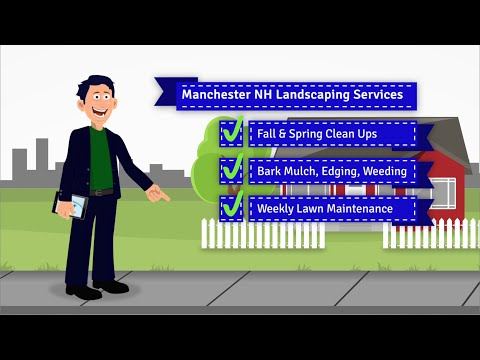 Landscaping Manchester NH   Fall and Spring Clean Ups
