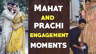 Actor Mahat and Prachi Misha Engagement celebrations | Mahat Prachi engagement | Gup chup Masthi