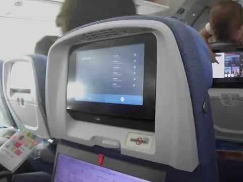 Boeing 787 dreamliner di air europa opinione di turvideo for Interior 787 air europa