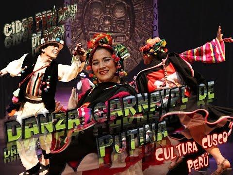 Danza CARNAVAL DE PUTINA CIDAF PERÚ DANZA