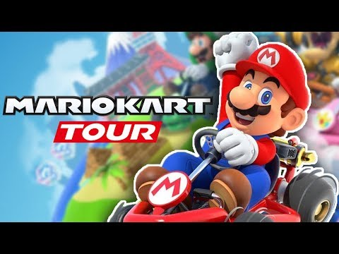 Mario Kart Tour - Part 1: F2P FREE DOWNLOAD! LET'S RACE! (Android & IOS)
