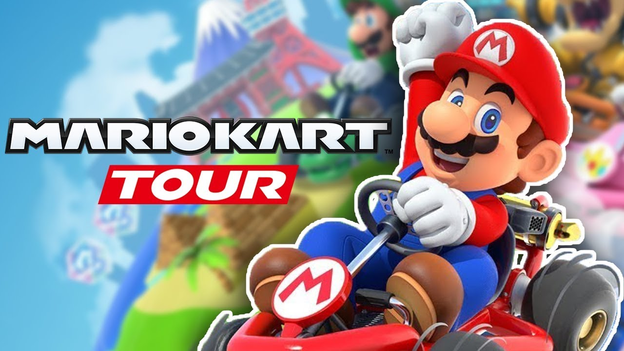 Mario Kart Tour – Part 1: F2P FREE DOWNLOAD! LET'S RACE! (Android & IOS)  #Smartphone #Android