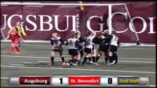 Augsburg Women's Soccer Highlights - Saint Benedict