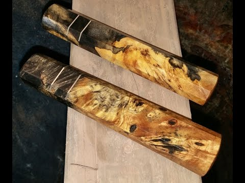 Stabilized Handle Wood Comparison Youtube