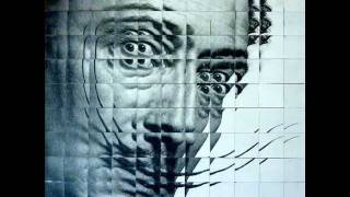 "Salvadore Dali ""fractured"" Portrait Using Quilting Pattern"