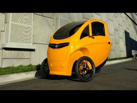 Velometro Veemo Prototype The Enclosed Electric Tricycle