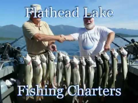Flathead Lake Fishing Charters With Captain Norm