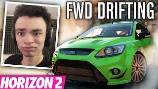 learning to drift fwd   forza horizon 2