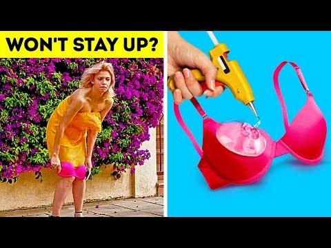 40 GENIUS BRA HACKS EVERY GIRL SHOULD KNOW. http://bit.ly/2GPkyb3