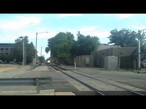 Near Death by Amtrak train Springfield,IL
