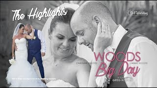 Caroline & Grant's Wedding I Woods Big Day I Highlights I Tikitano Beach Club