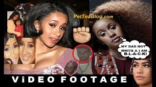 Cardi B Confirms she is BLACK Afro-Latina & Dad Not White (Video Proof) ✊🏾