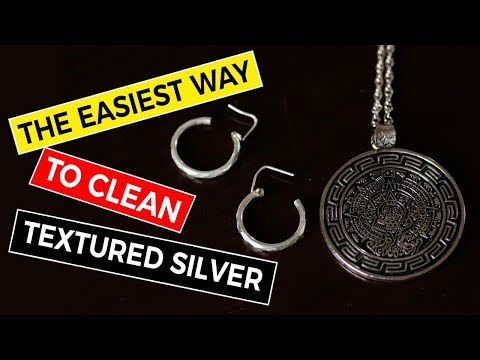 How to Clean a Silver Necklace