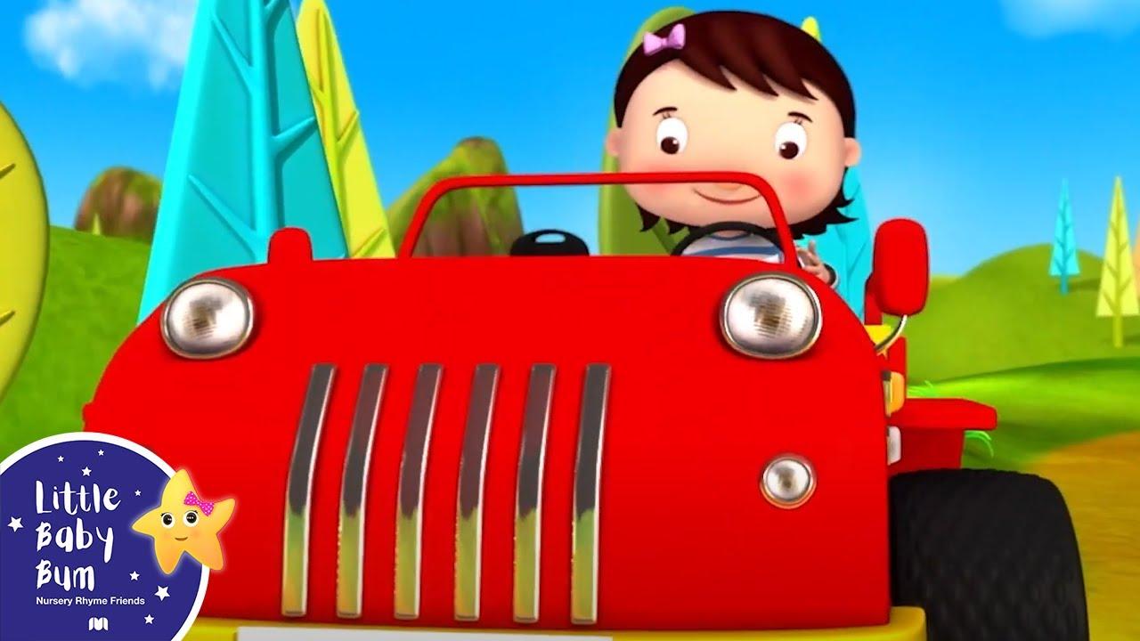 Driving In My Car Song   Best Baby Songs   Kids Cartoon   Nursery Rhymes   Little Baby Bum