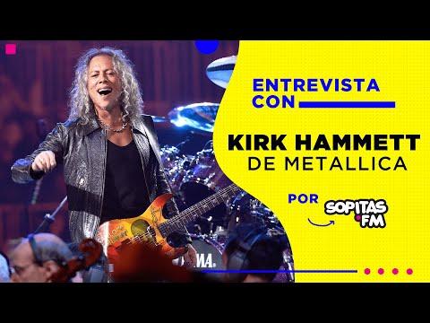 Entrevista | Kirk Hammett de Metallica nos cuenta sobre S&M2 y su amor por Mexicali