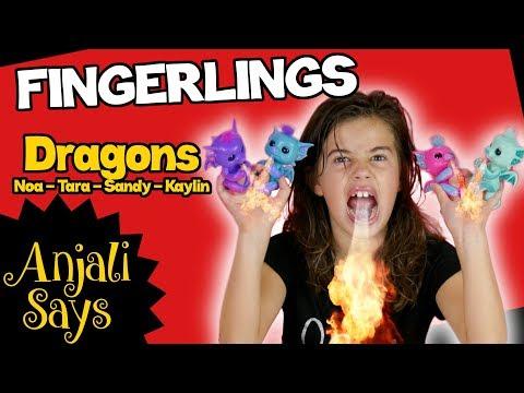 Dragon Fingerlings - Fire Breathing Fingerling Dragons (Noa Tara Sandy Kaylin)