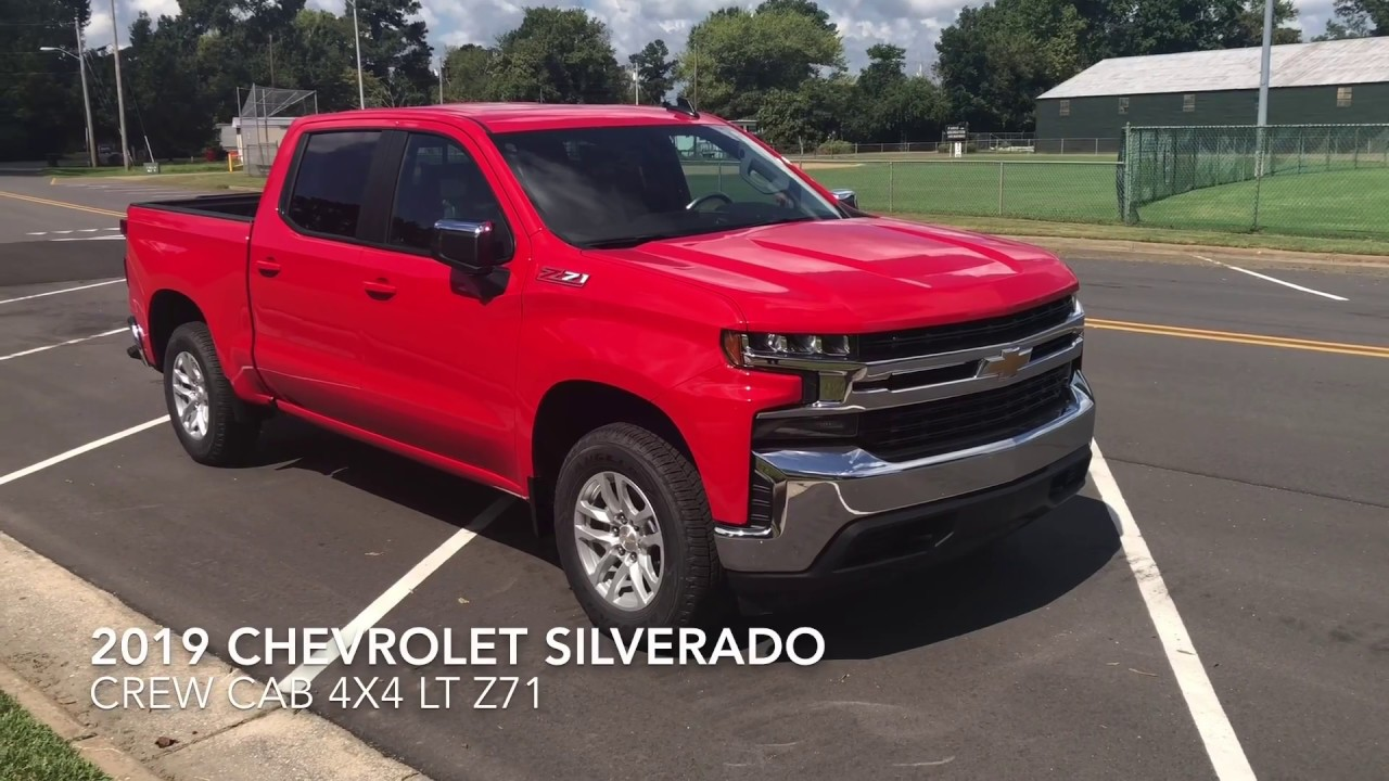 2019 Chevrolet Silverado 1500 LT 4x4 Z71 Walkaround - YouTube